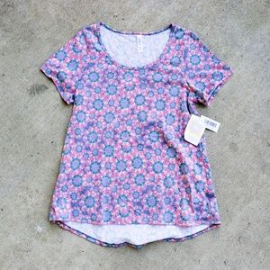 LulaRoe Classic T Floral Pattern Top